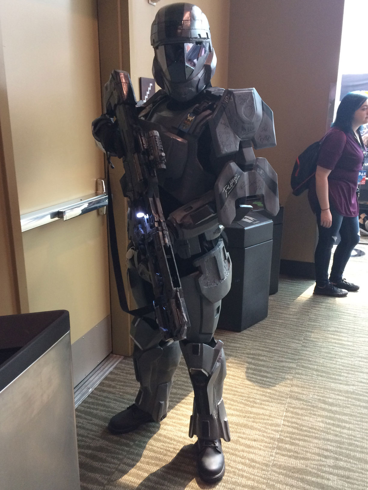 Pax West 2017 Cosplay Day 4 ODST