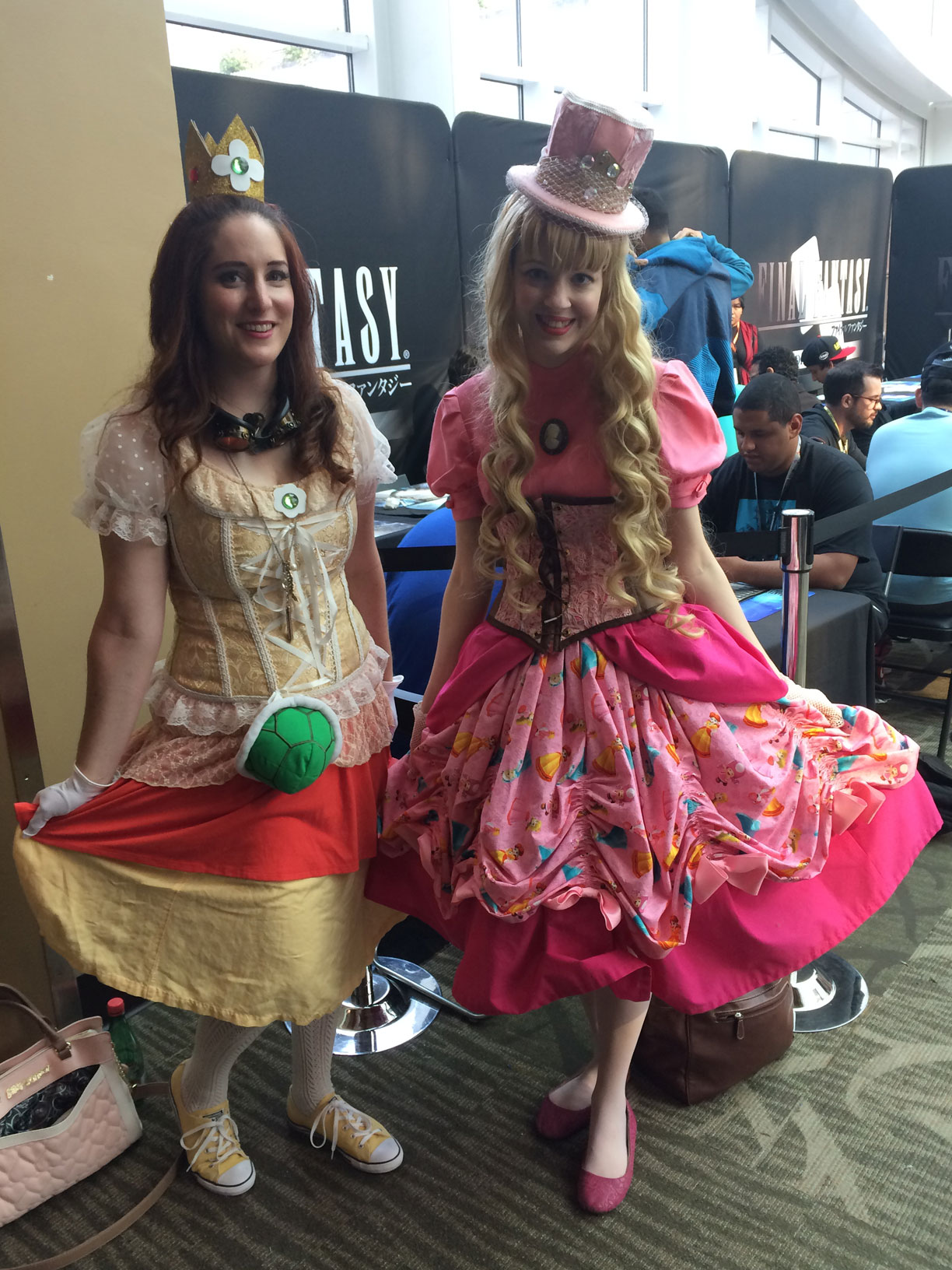 Pax West 2017 Cosplay Day 4 Peach and Daisy