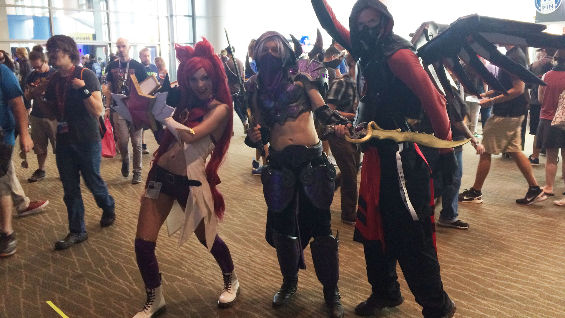 Pax West 2017 Cosplay Day 4 trio