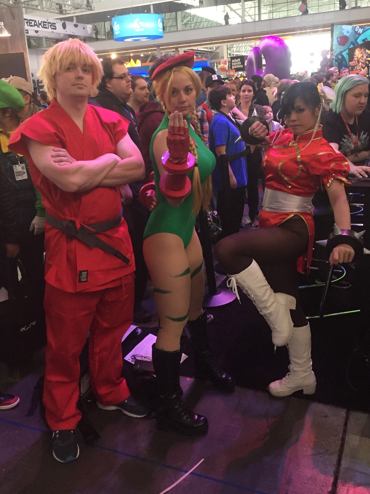Pax East 2016 Cosplay Day 1 Street Fighter