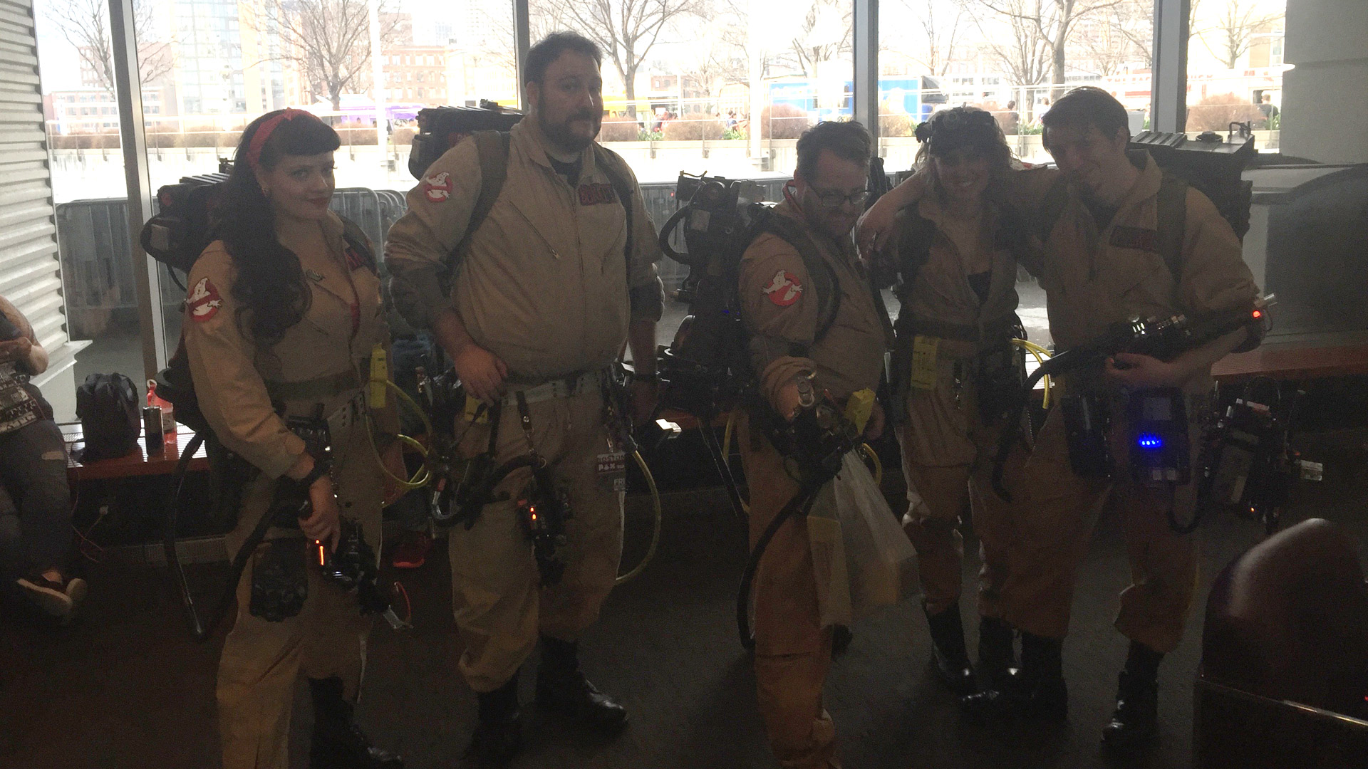 Pax East 2016 Cosplay Day 1 Ghostbusters