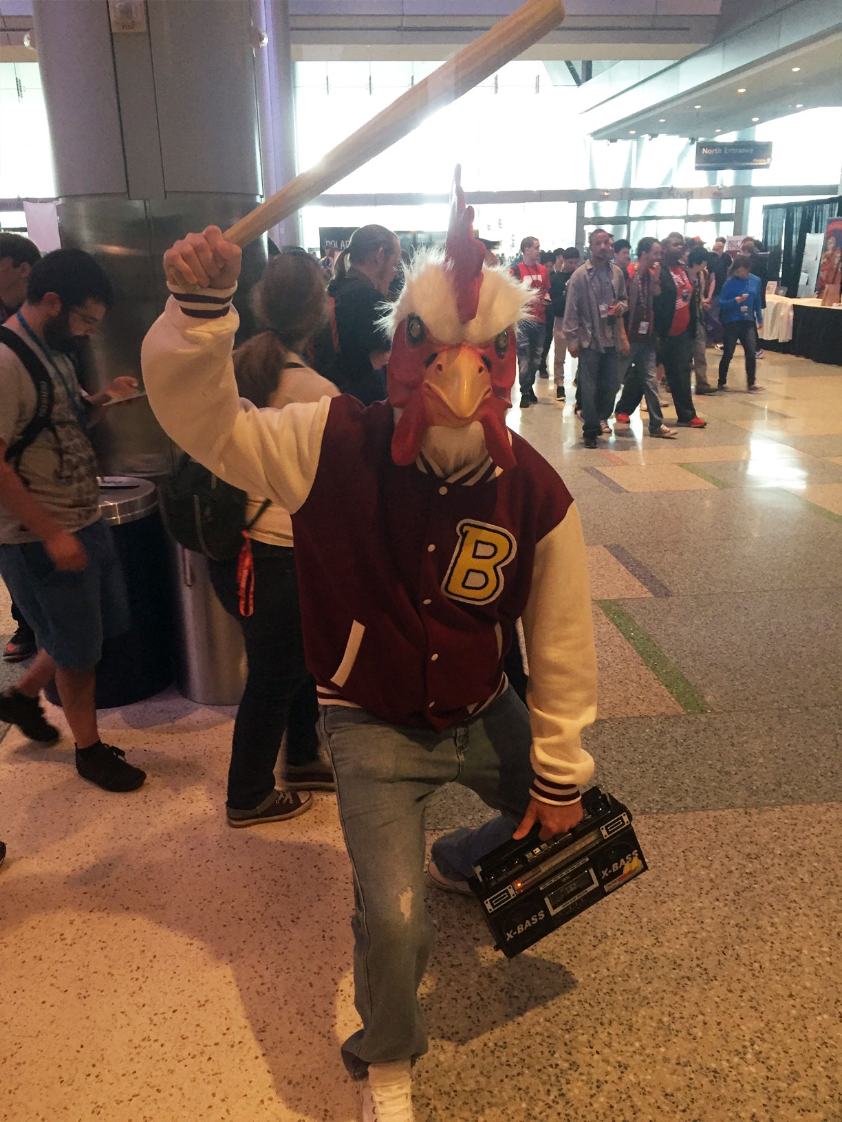 Pax East 2016 Cosplay Day 2 Hotline Miama Chicken