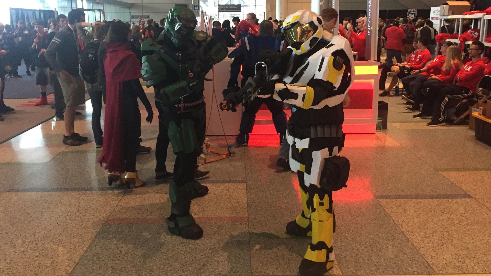 Pax East 2016 Cosplay Day 2 Halo