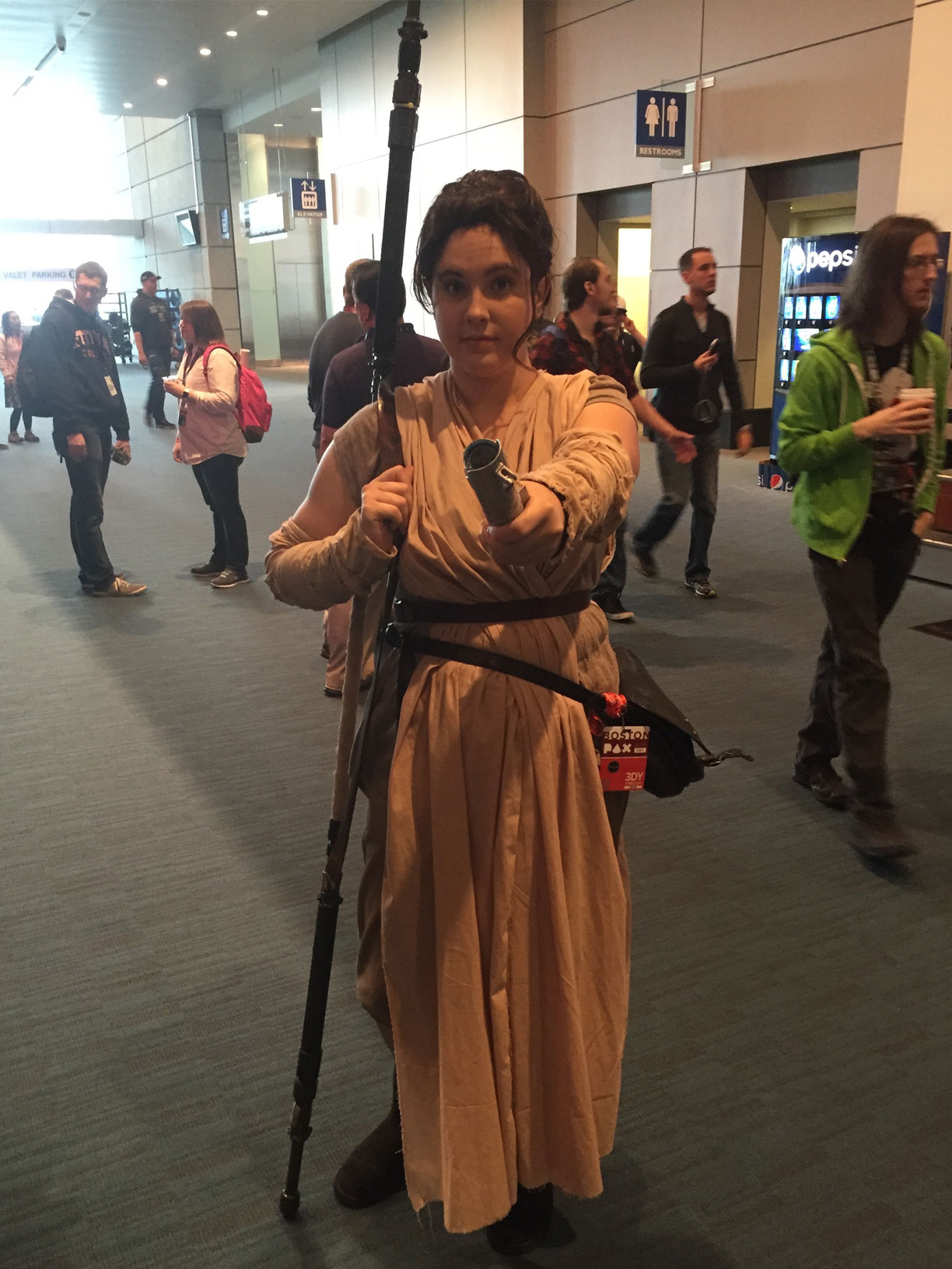 Pax East 2016 Cosplay Day 2 Star Wars Rey