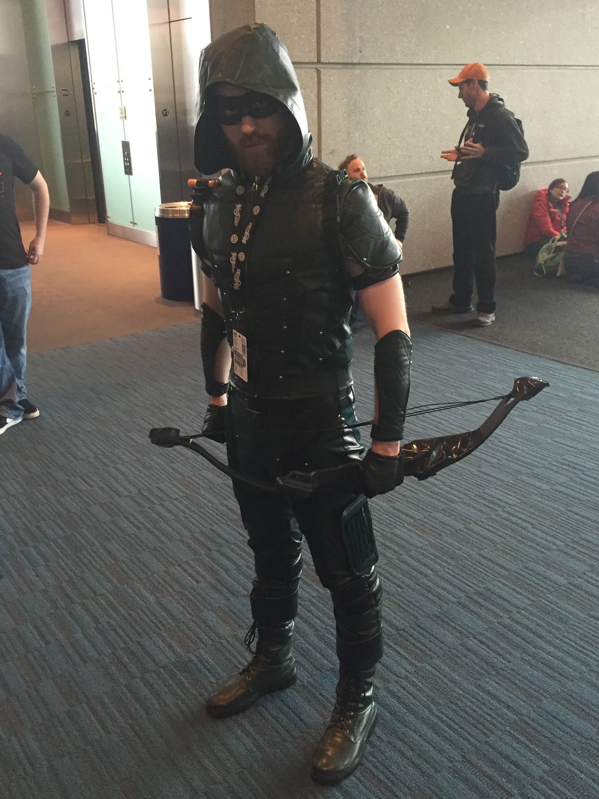 Pax East 2016 Cosplay Day 2 Arrow