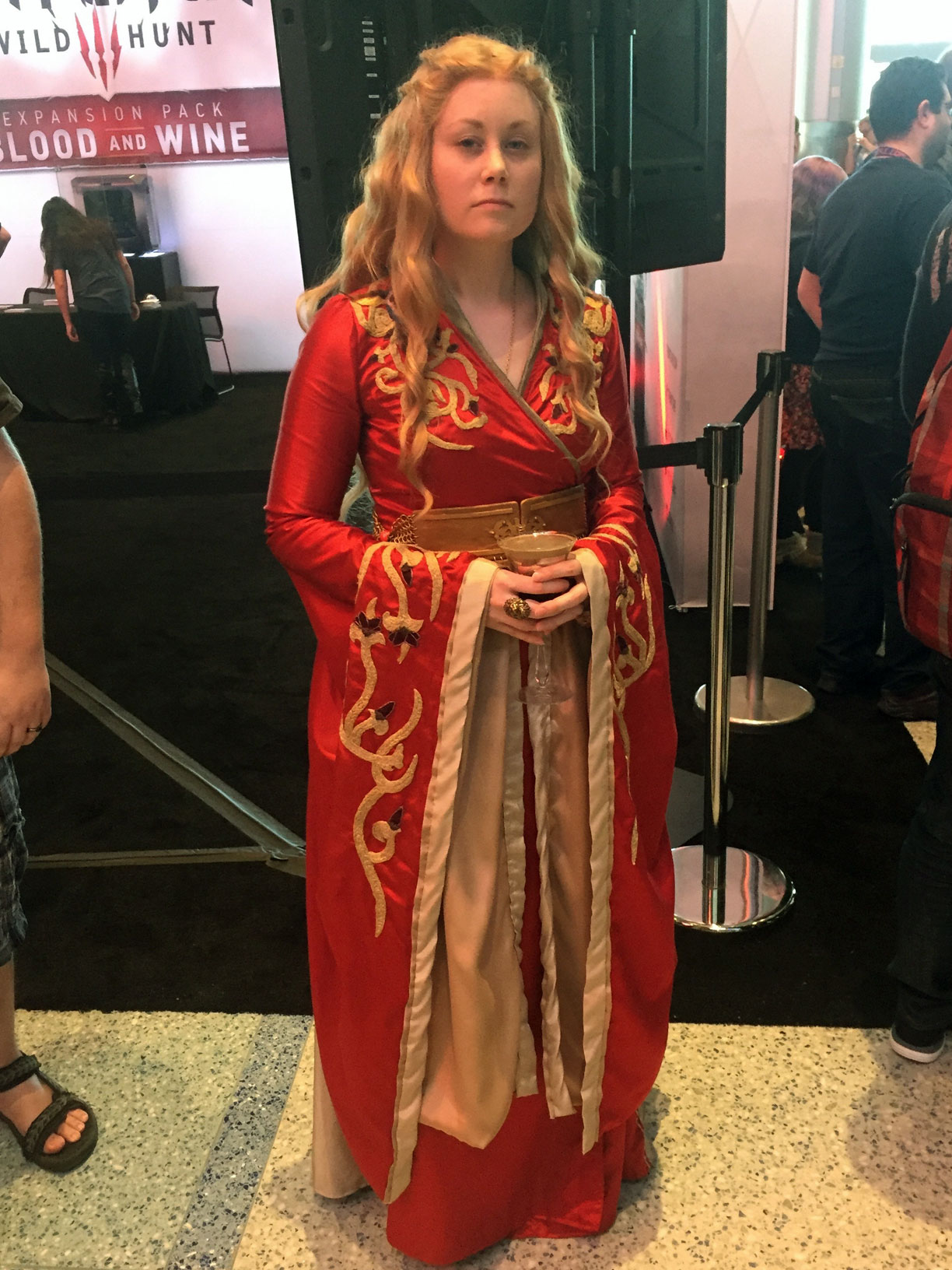 Pax East 2016 Cosplay Day 3 Cersei