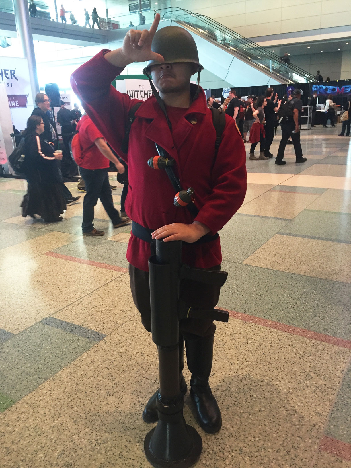 Pax East 2016 Cosplay Day 3 Team Fortress 2 Soldier
