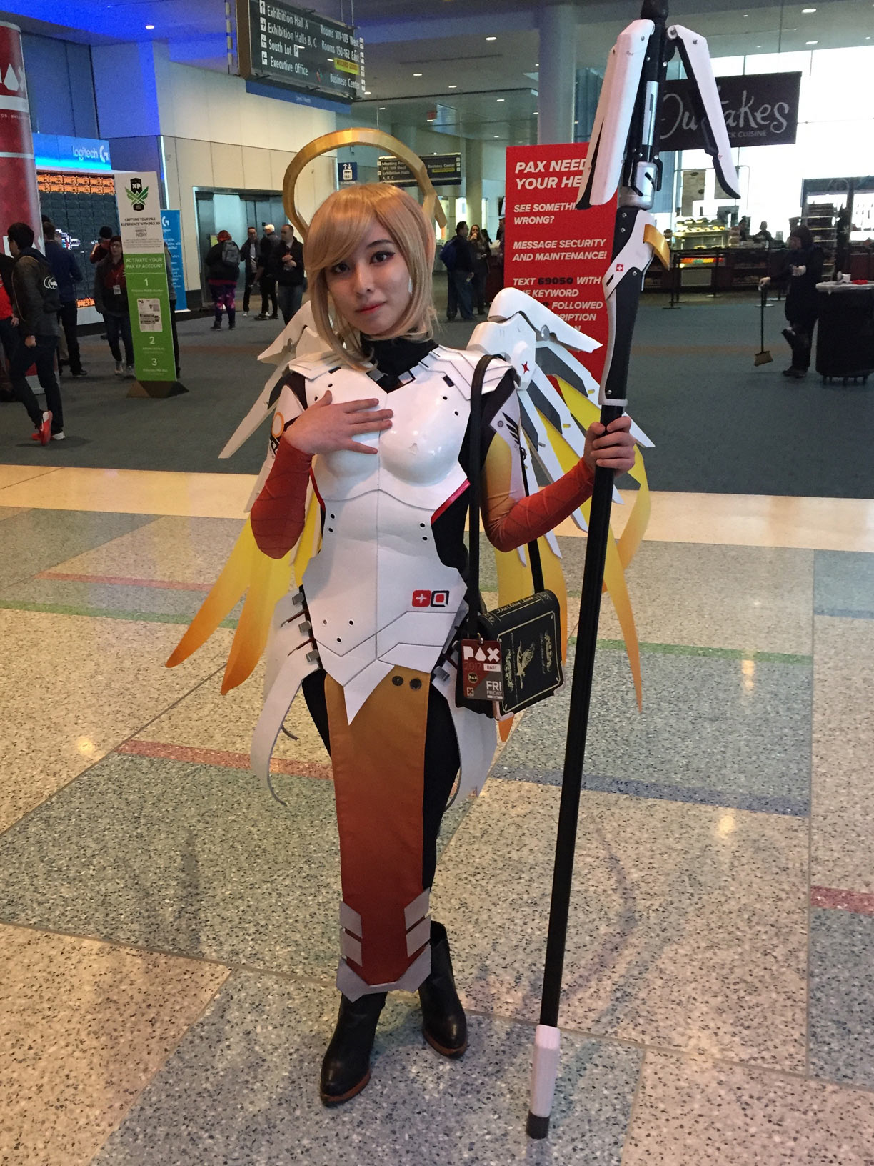 Pax East 2017 Cosplay Day 1 Overwatch Mercy