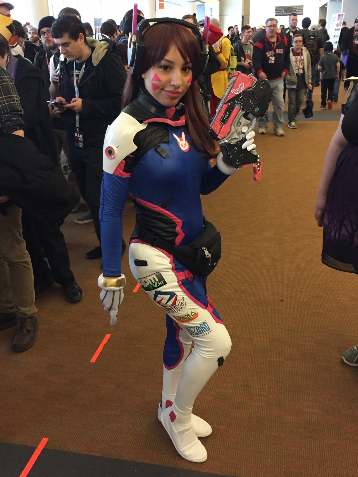 Pax East 2017 Cosplay Day 1 D.Va