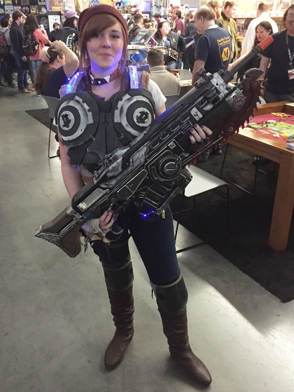 Pax East 2017 Cosplay Day 1 Gears of War Kait