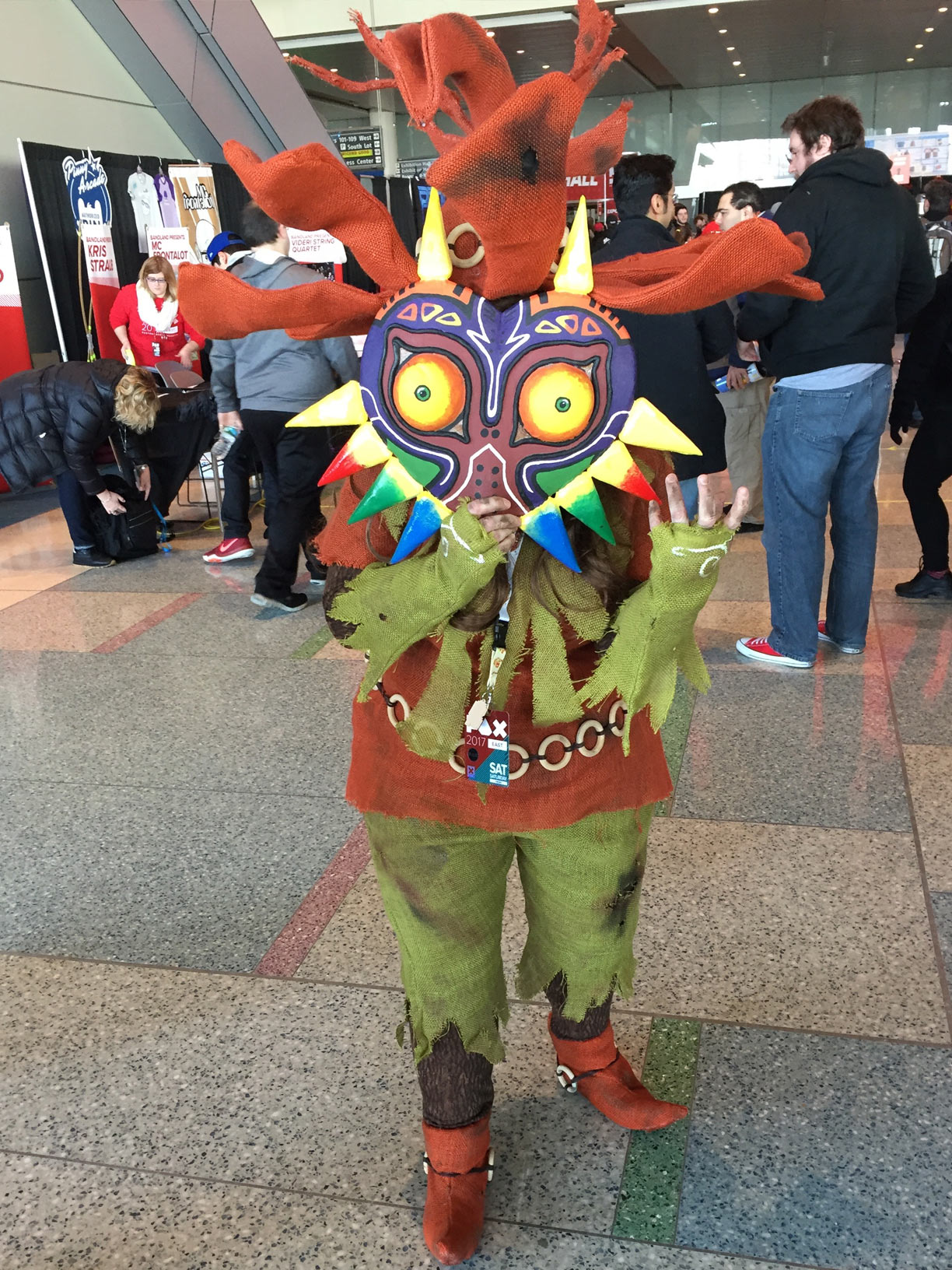 Pax East 2017 Cosplay Day 2 Majora's Mask