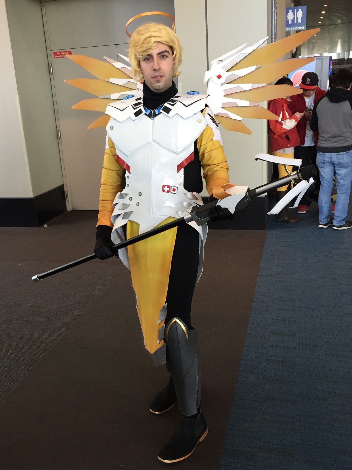 Pax East 2017 Cosplay Day 2 Mercy Overwatch