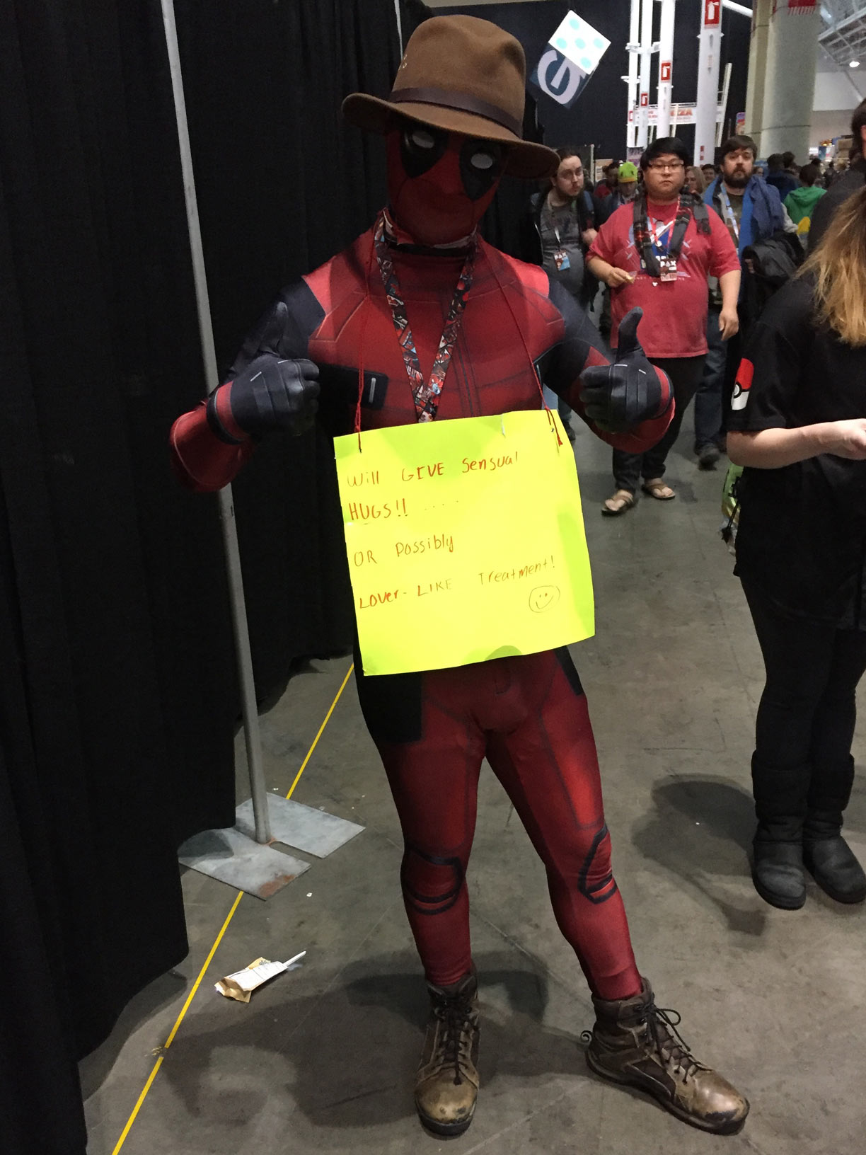 Pax East 2017 Cosplay Day 3 Deadpool