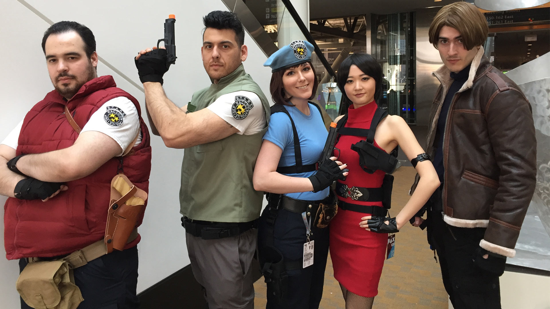 Pax East 2017 Cosplay Day 3 Resident Evil Crew
