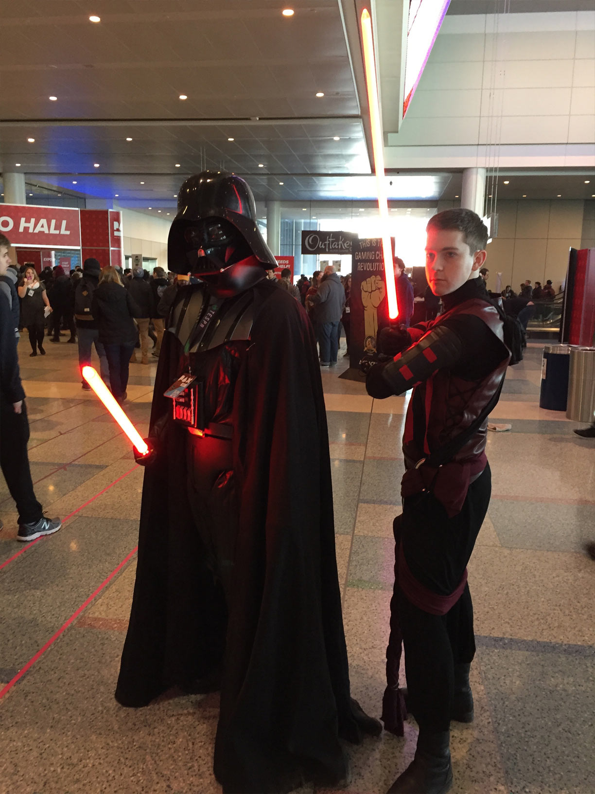 Pax East 2017 Cosplay Day 3 Darth Vader