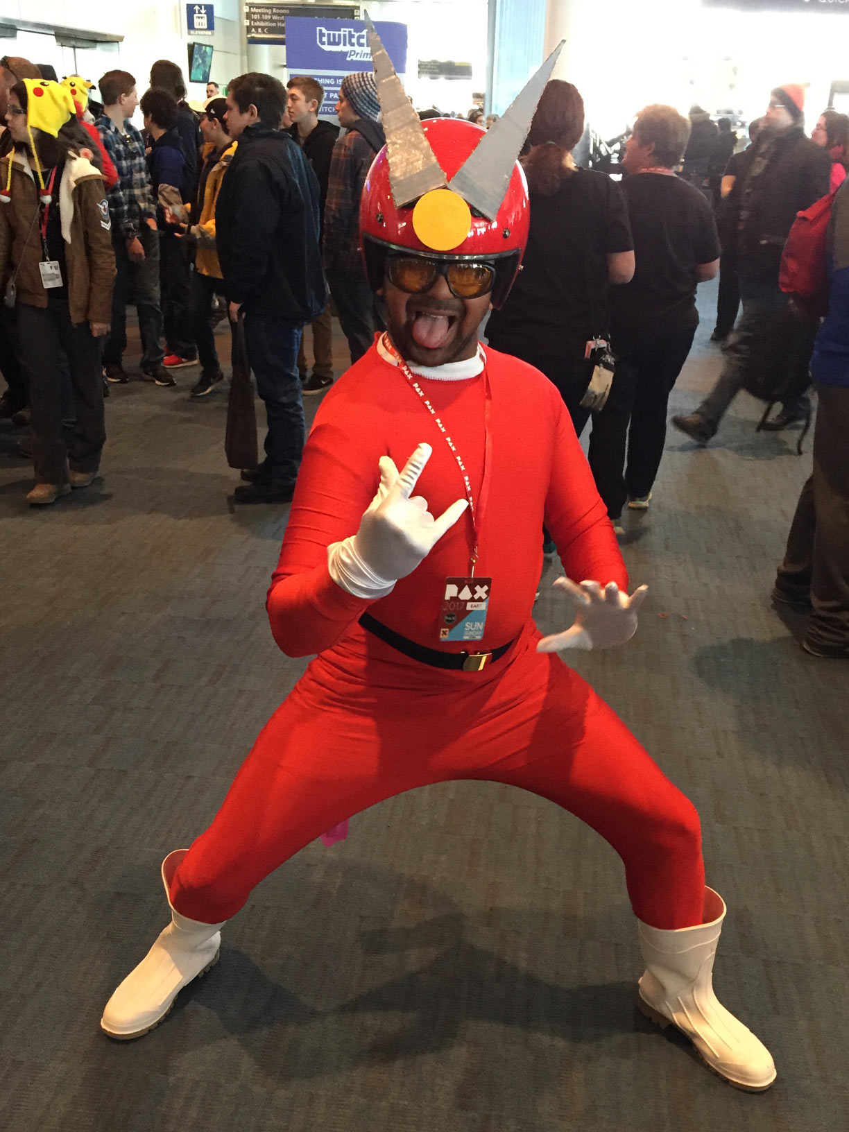 Pax East 2017 Cosplay Day 3 Viewtiful Joe