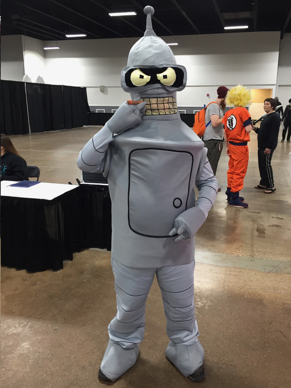 The Great Philadelphia Comic Con 2017 Cosplay Day 2 Bender