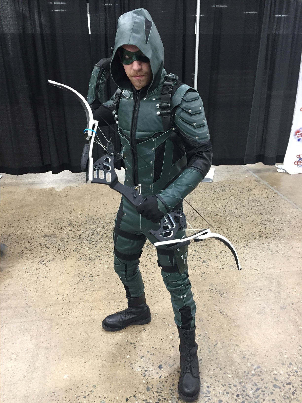 The Great Philadelphia Comic Con 2017 Cosplay Day 2 Arrow