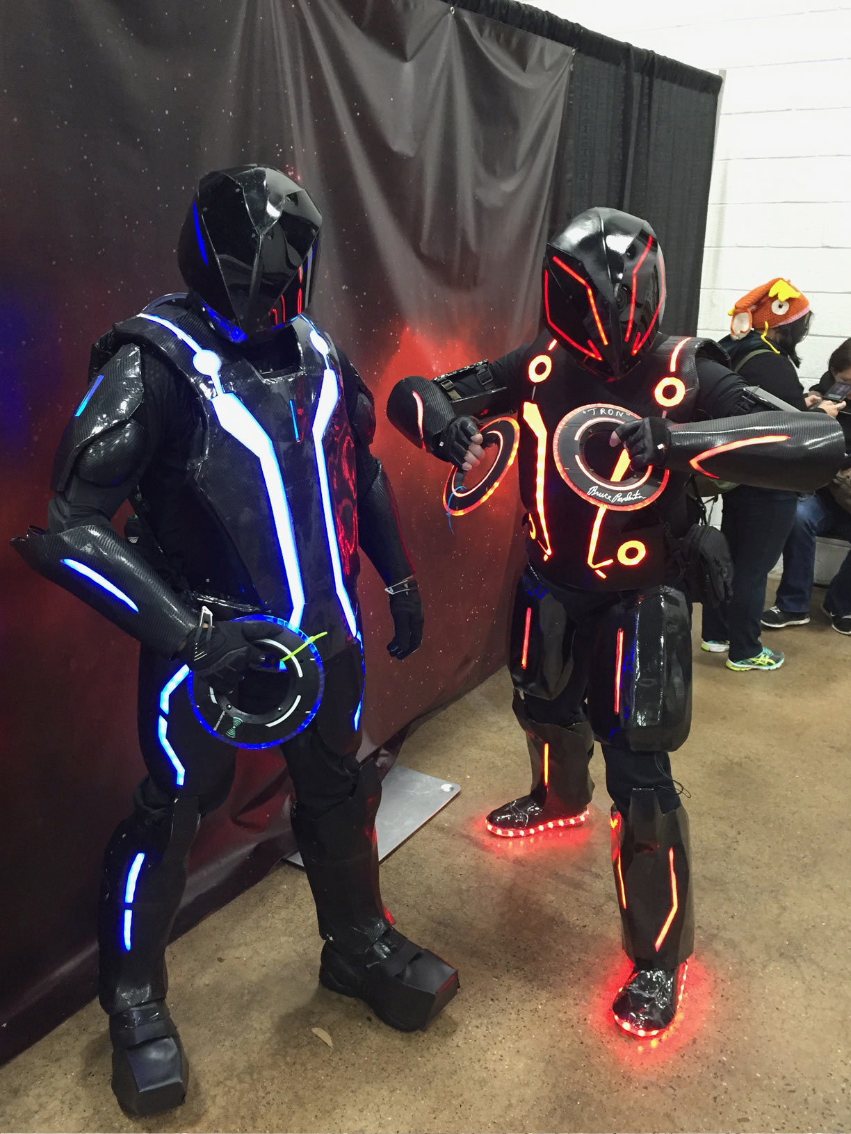 The Great Philadelphia Comic Con 2017 Cosplay Day 2 Tron