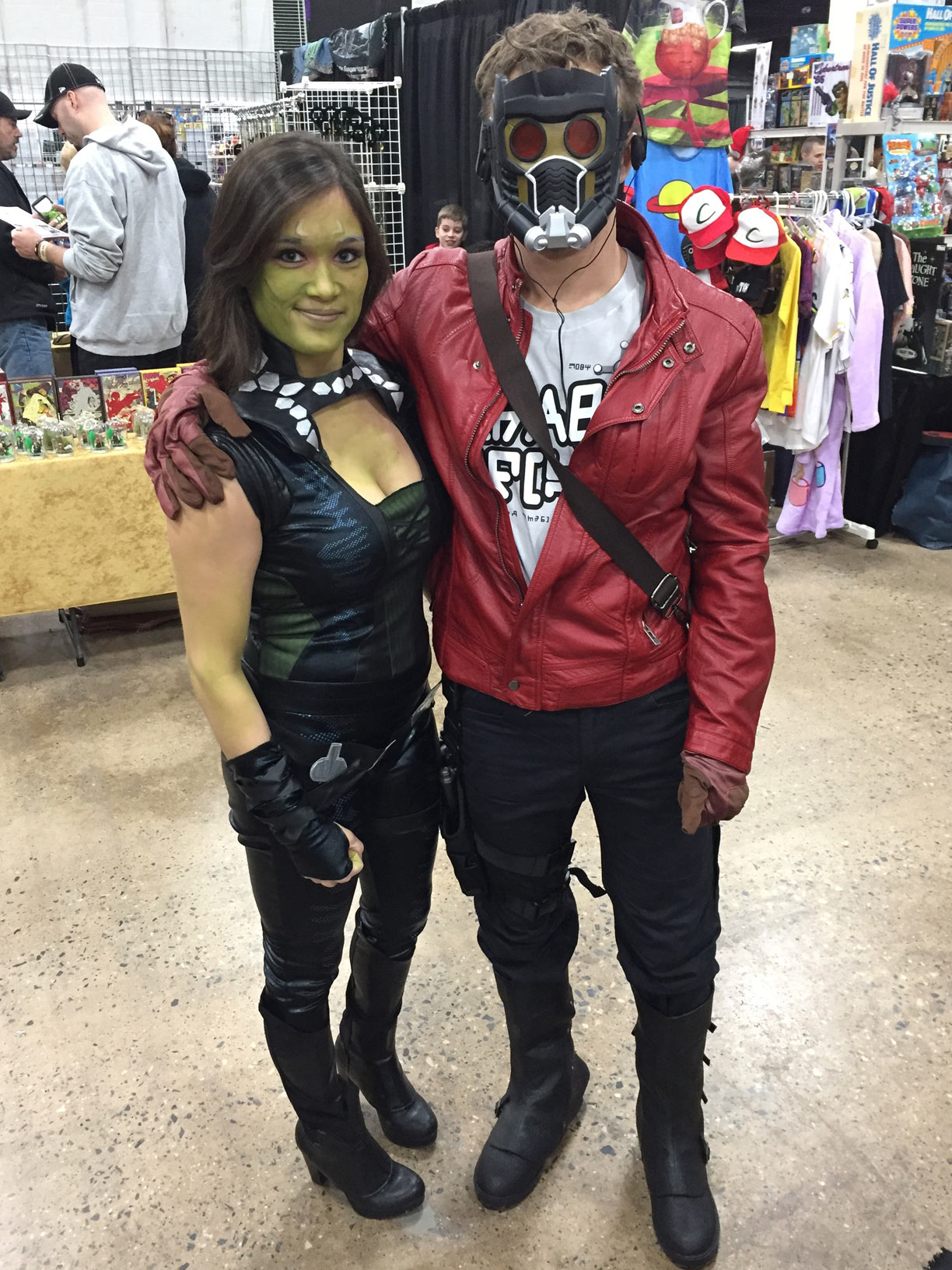 The Great Philadelphia Comic Con 2017 Cosplay Day 2 Starlord and Gamora