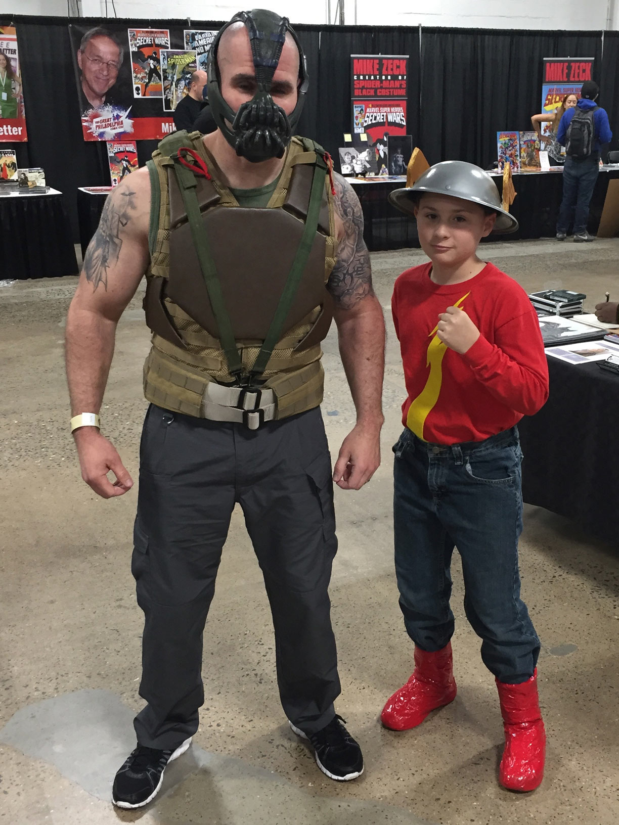 The Great Philadelphia Comic Con 2017 Cosplay Day 2 Bane