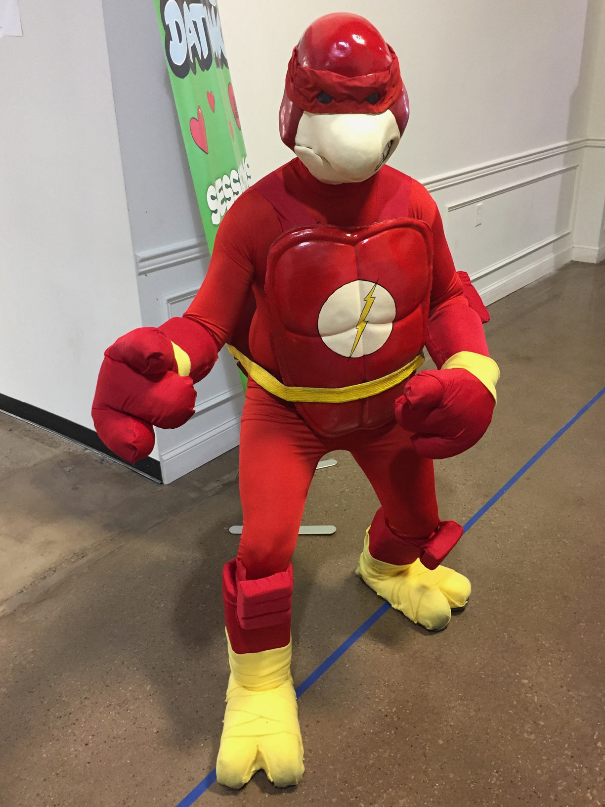The Great Philadelphia Comic Con 2017 Cosplay Day 2 Flash Turtle