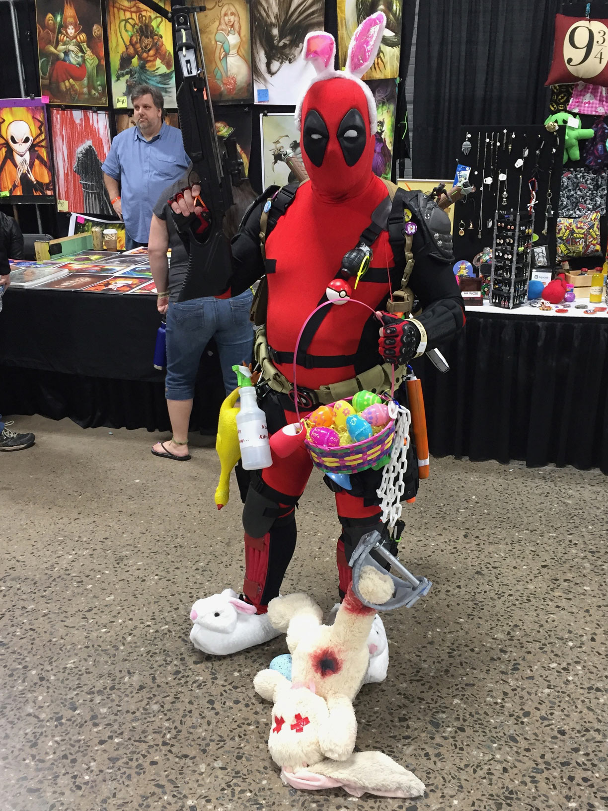 The Great Philadelphia Comic Con 2017 Cosplay Day 2 Deadpool Easter