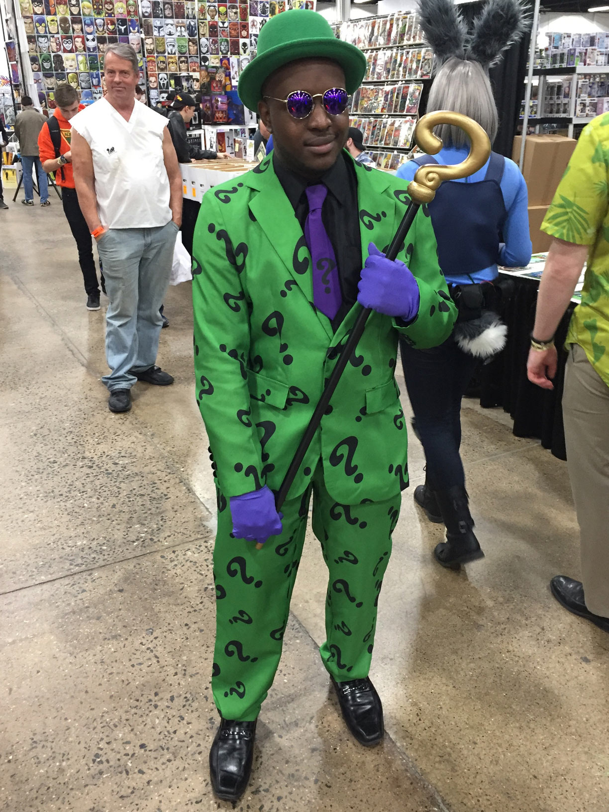 The Great Philadelphia Comic Con 2017 Cosplay Day 2 The Riddler