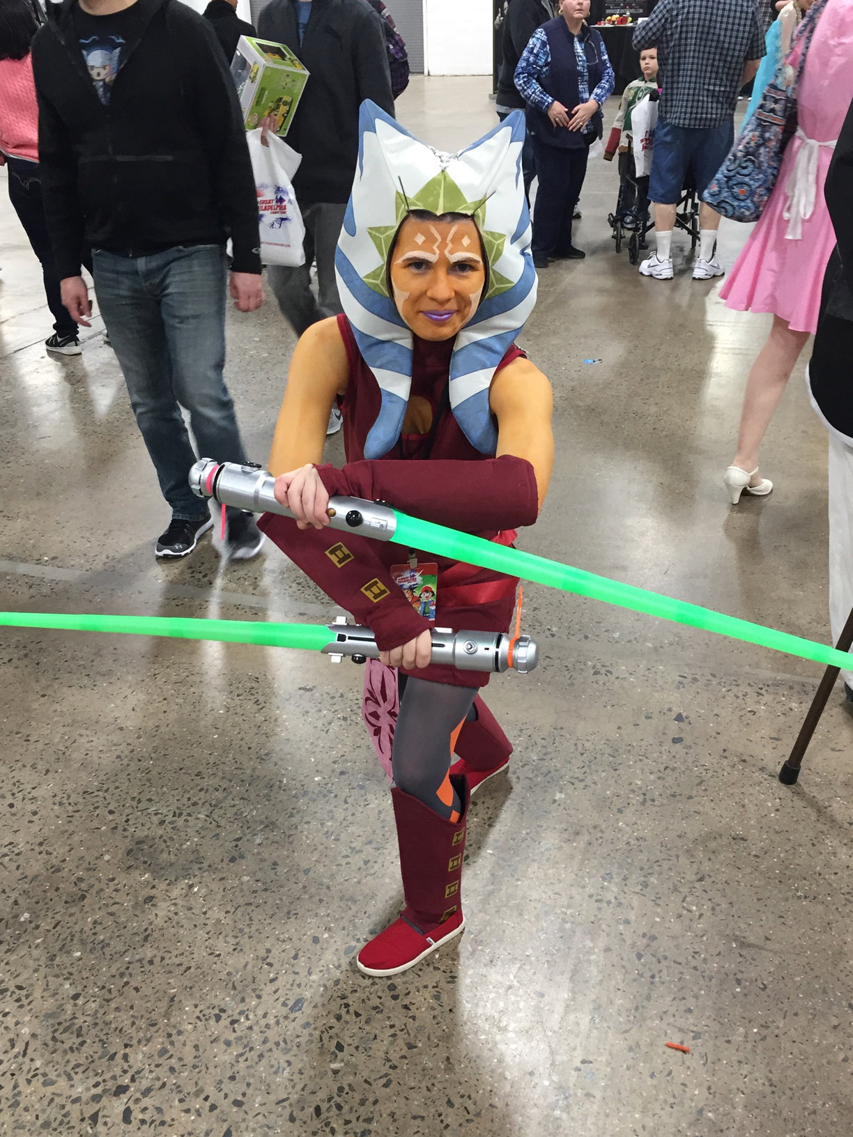 The Great Philadelphia Comic Con 2017 Cosplay Day 2 Ahsoka