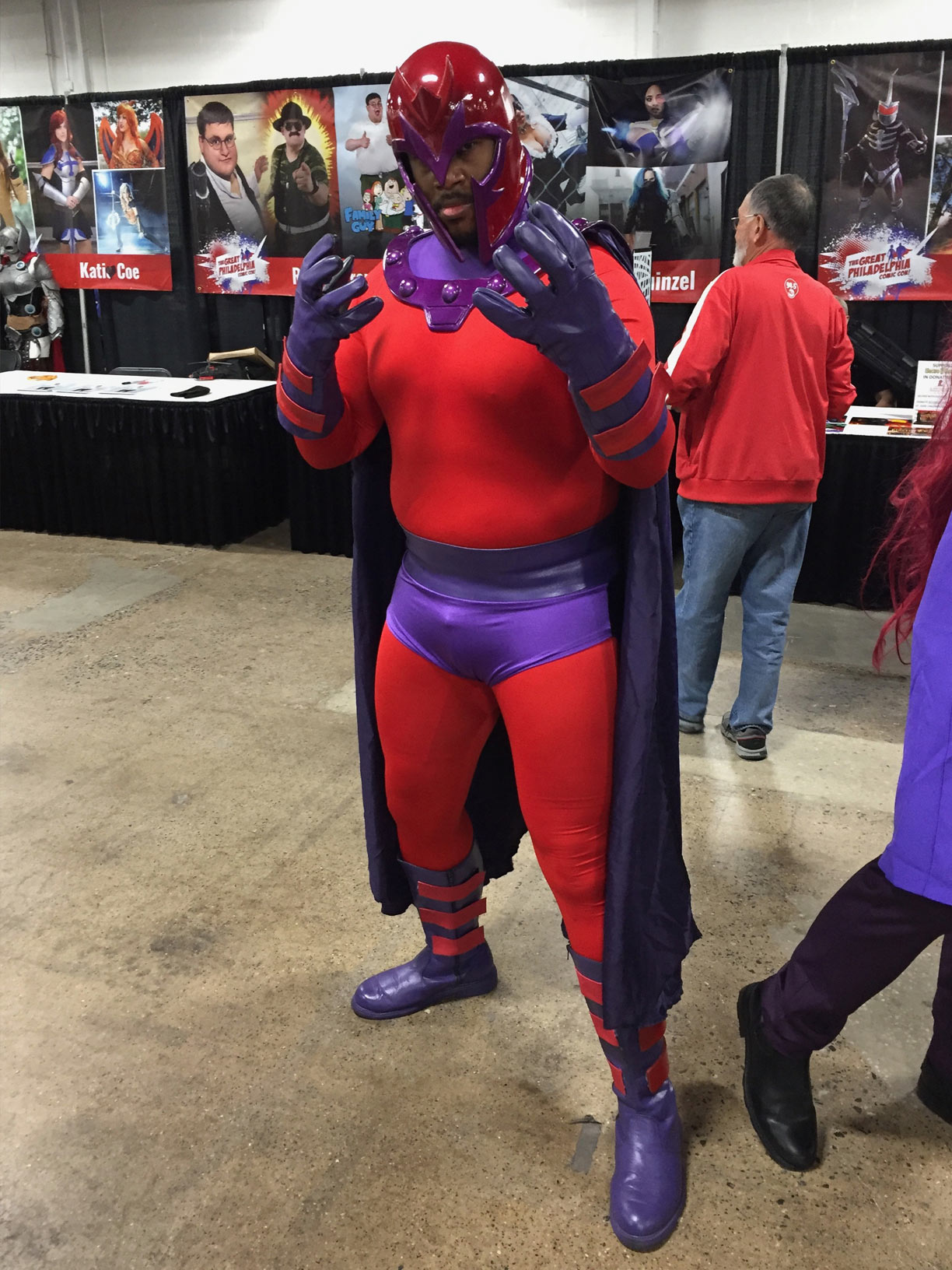 The Great Philadelphia Comic Con 2017 Cosplay Day 2 Magneto