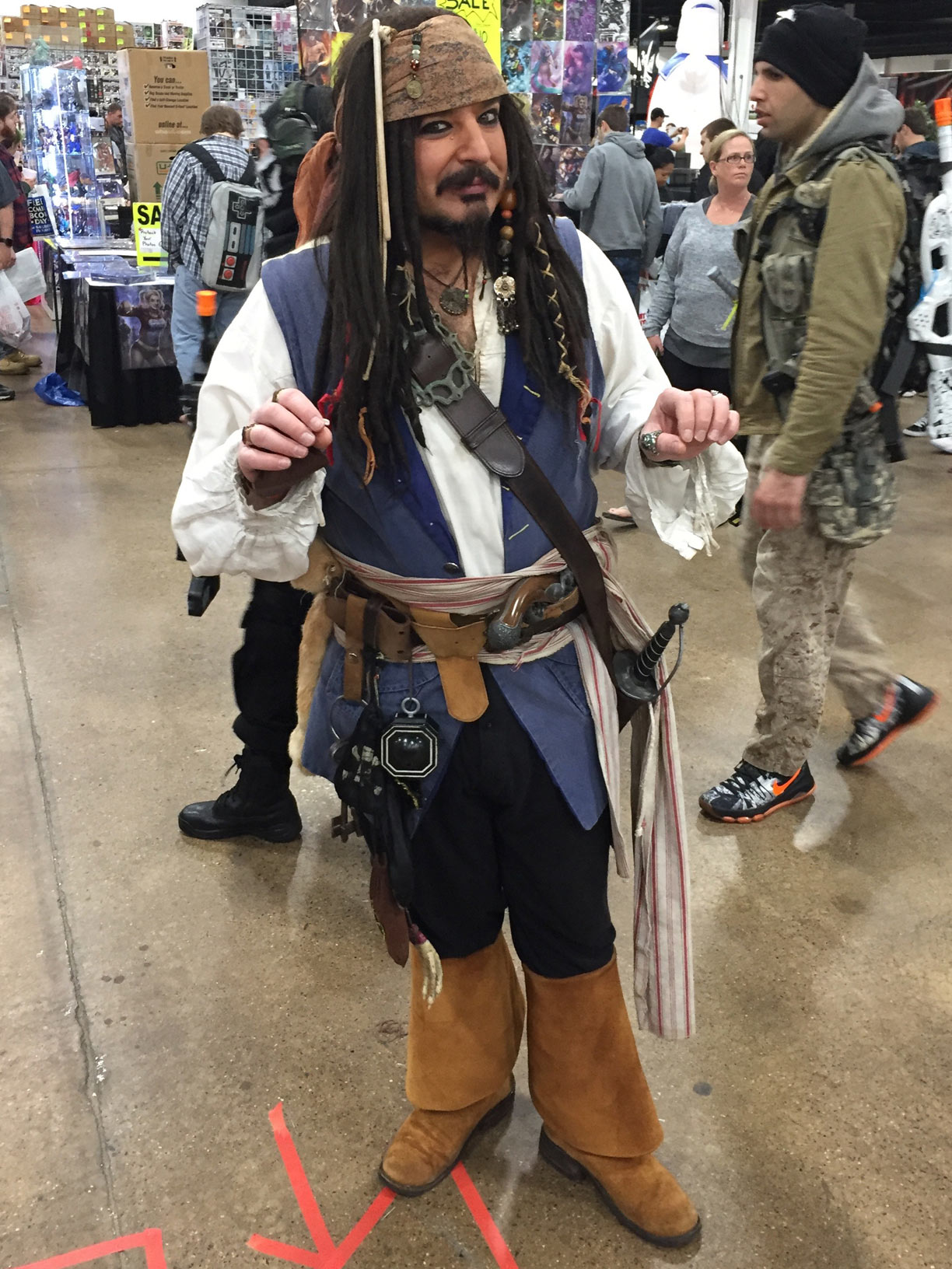 The Great Philadelphia Comic Con 2017 Cosplay Day 2 Jack Sparrow