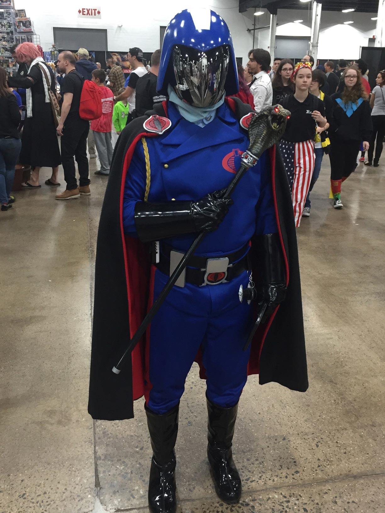 The Great Philadelphia Comic Con 2017 Cosplay Day 3 Cobra Commander