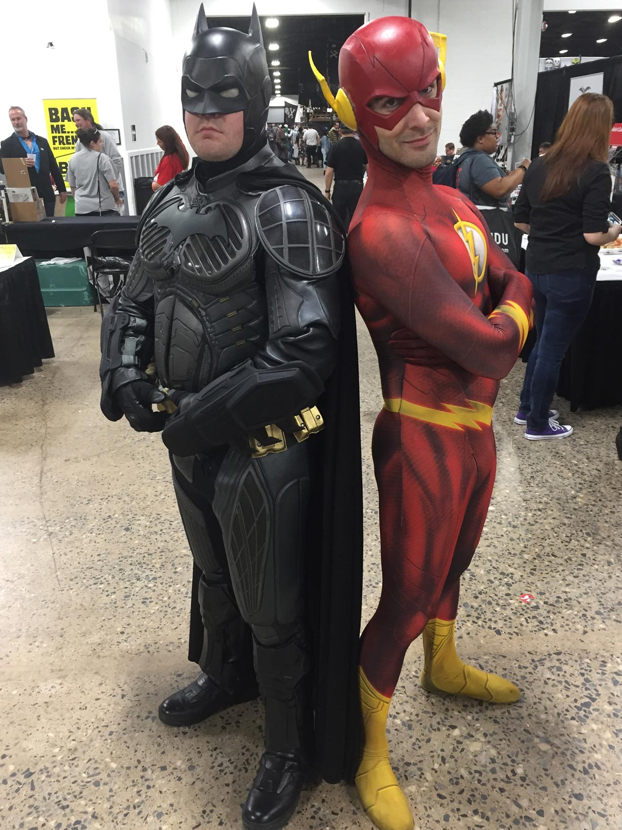 The Great Philadelphia Comic Con 2017 Cosplay Day 3 Batman and Flash