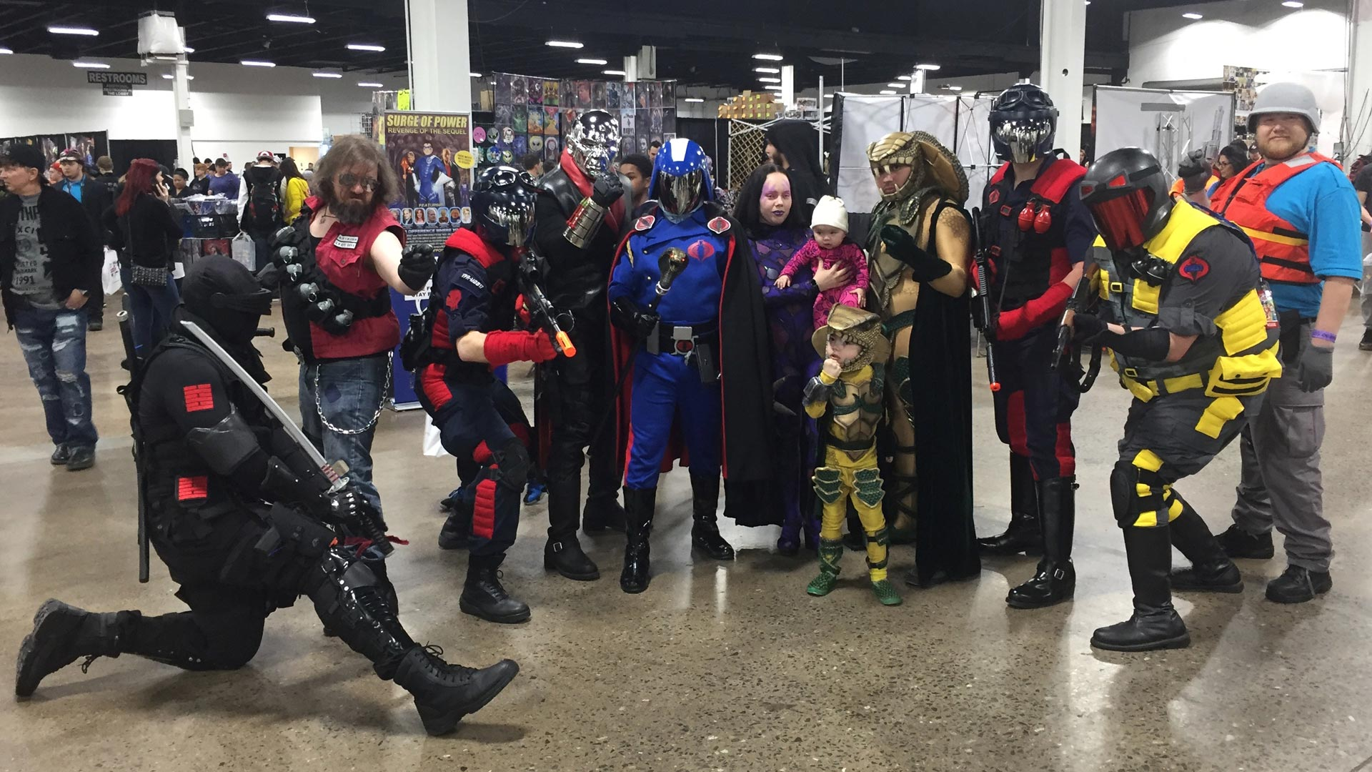 The Great Philadelphia Comic Con 2017 Cosplay Day 3 GI Joe Squad