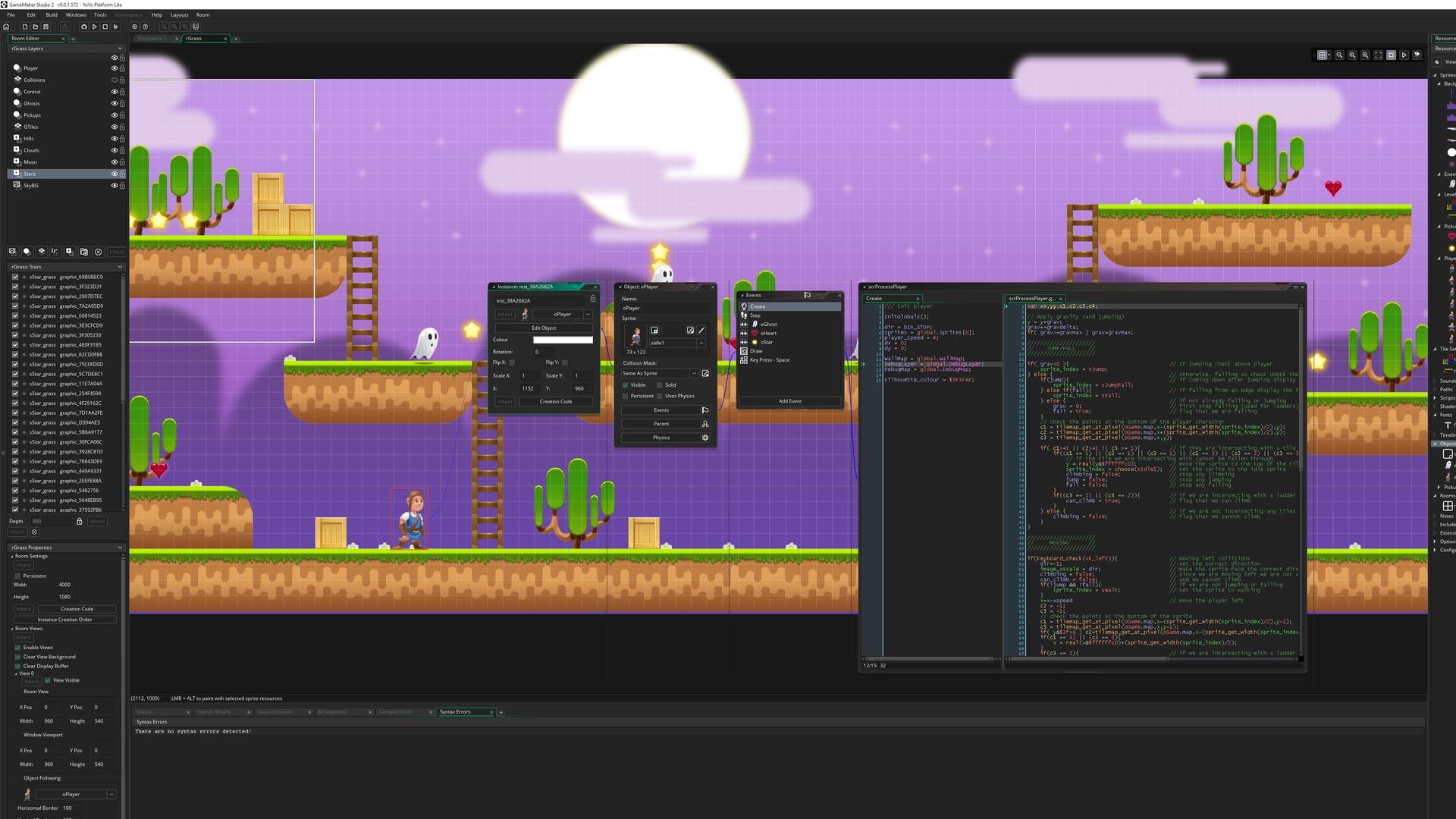 GameMaker Studio 2 Nintendo Switch Screenshot