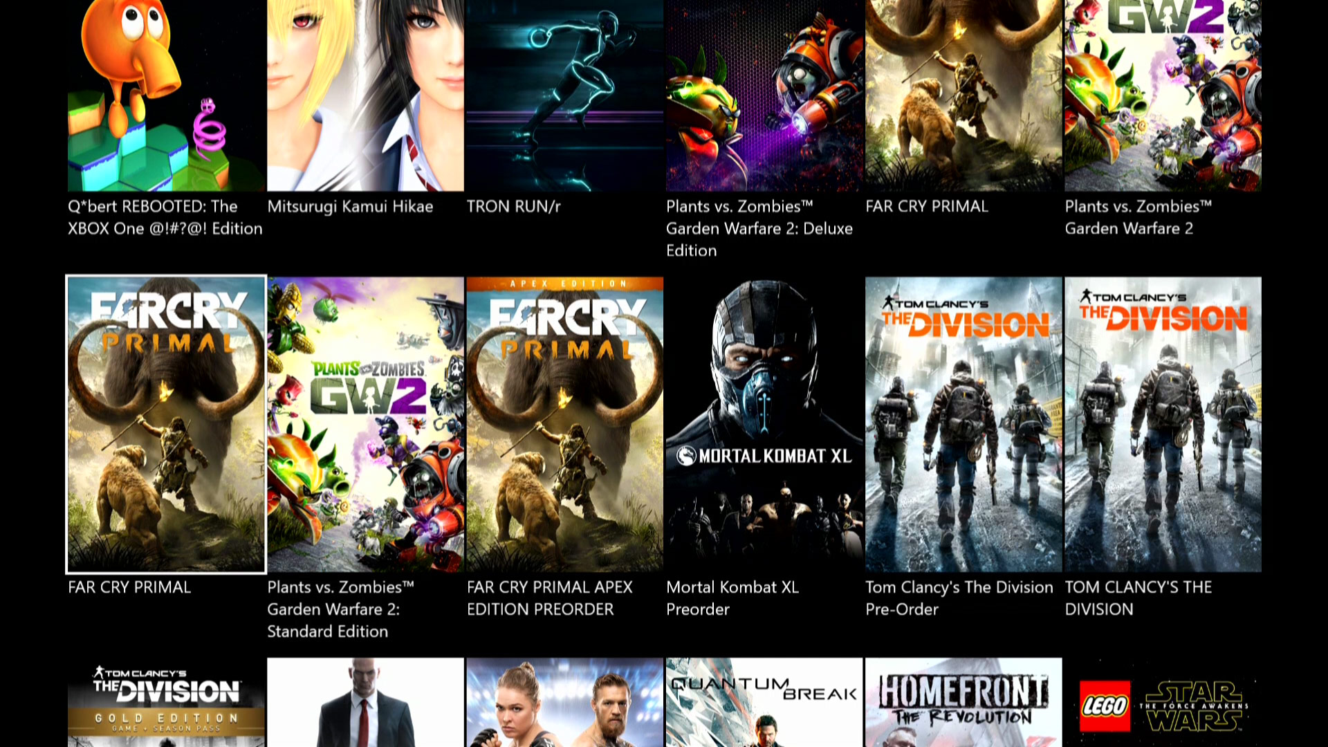 Xbox One Marketplace Needs to be Redesigned