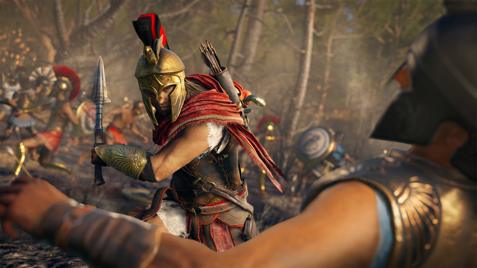 Assassin's Creed Odyssey Soldiers
