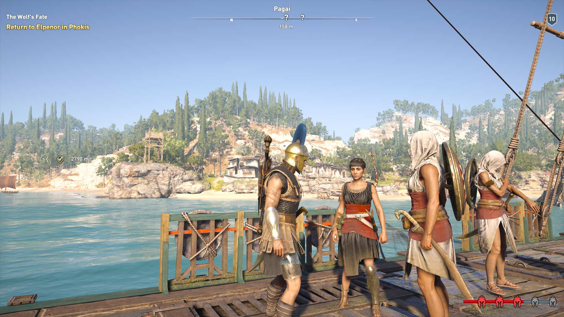 Assassin's Creed Odyssey Romance Guide Aphrodite's Embrace Achievement Screenshot