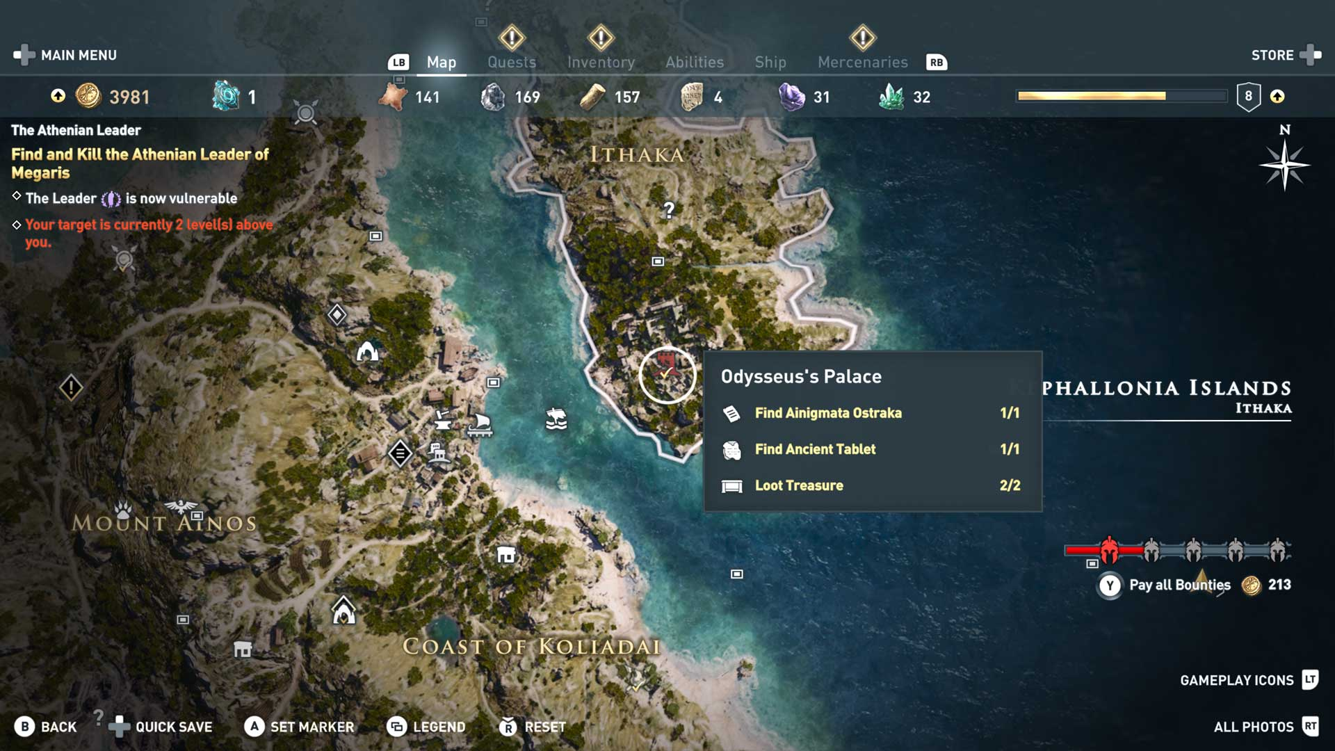 Assassin's Creed Odessa Map