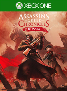 Assassin's Creed Chronicles: Russia Xbox One Box Art