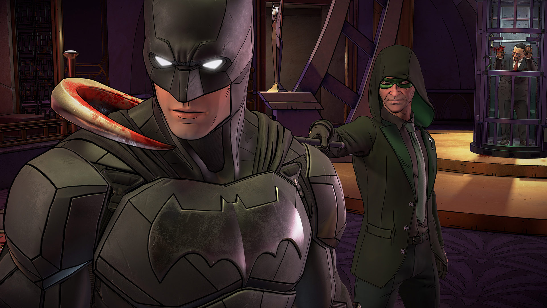 Batman: The Enemy Within Games with Gold