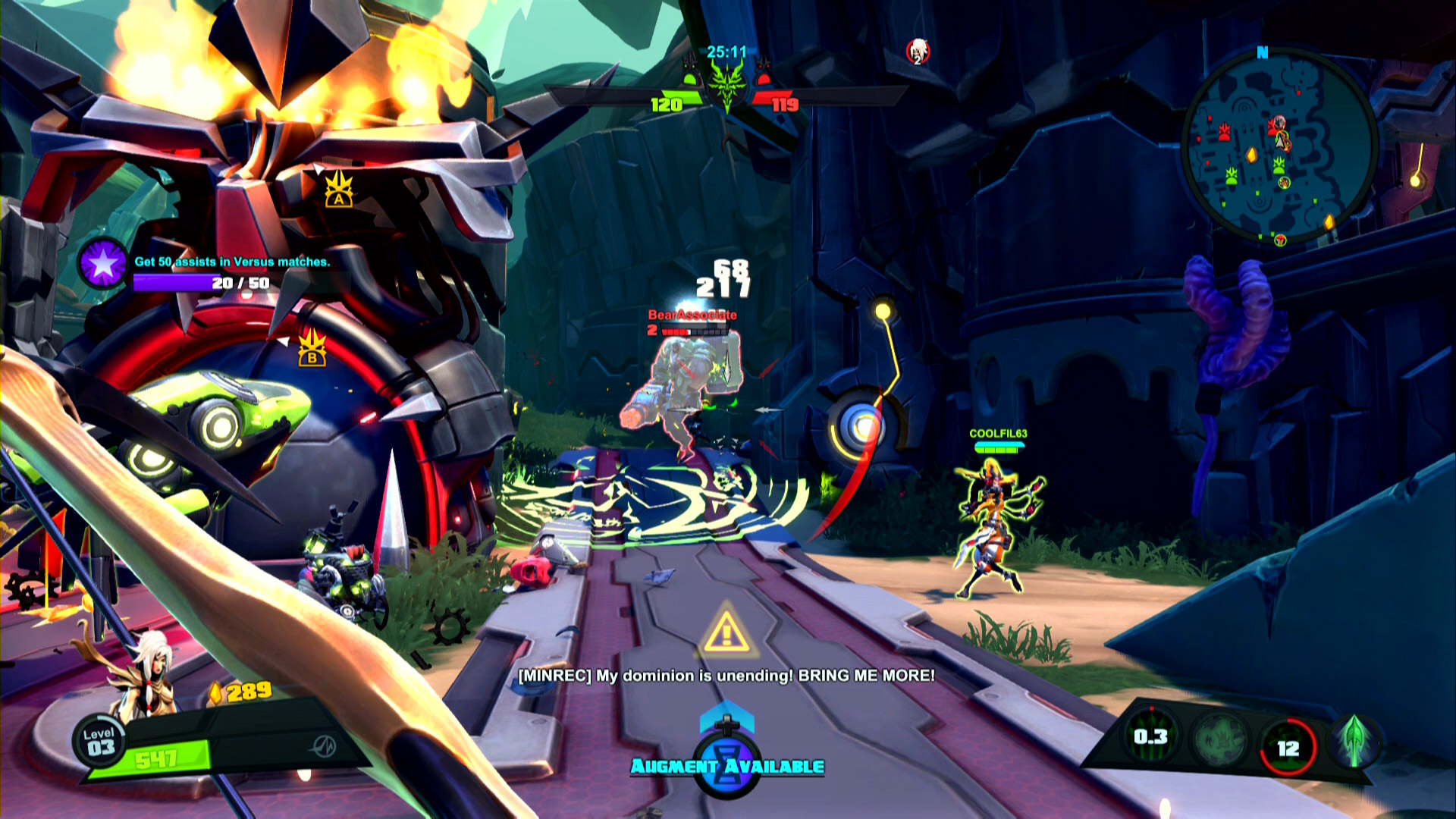 Battleborn Beta Xbox One Screenshot