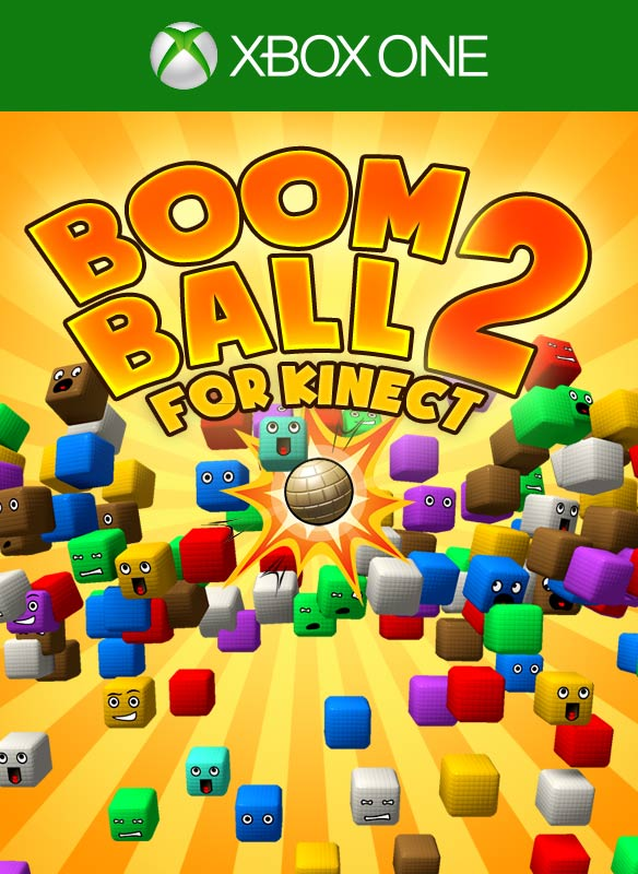 Boom Ball for Kinect 2 Xbox One Box Art