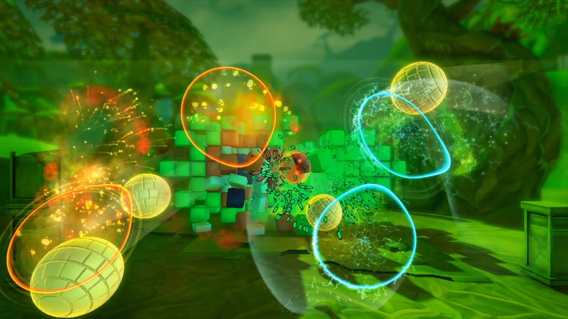 Boom Ball 3 for Kinect Forest