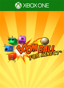 Boom Ball for Kinect Xbox One Box Art