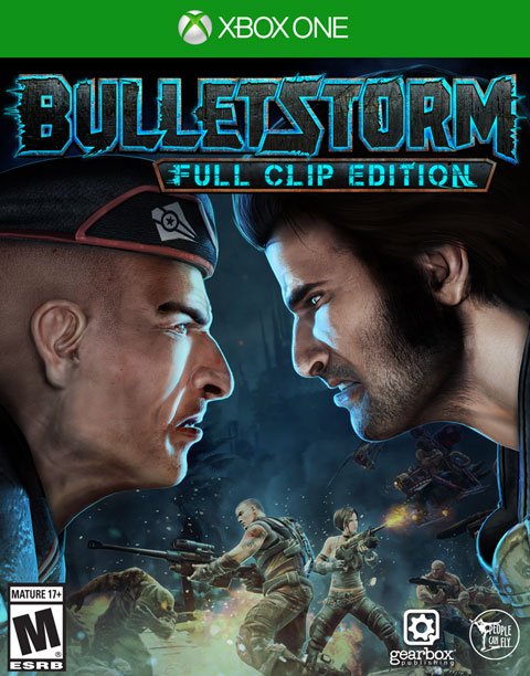 Bulletstorm: Full Clip Edition Box Art
