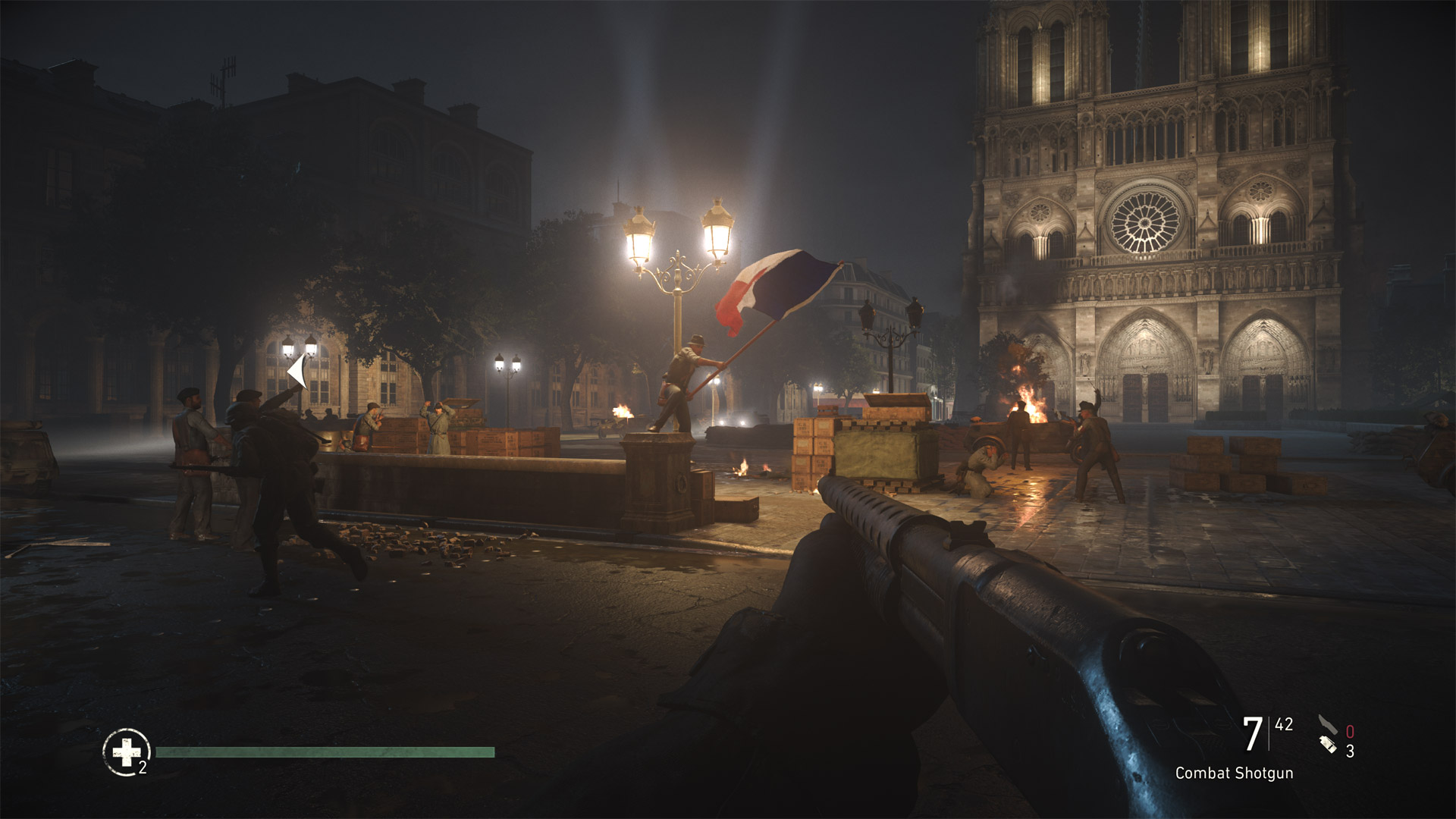 Call of Duty: WWII The Resistance Install Size Screenshot
