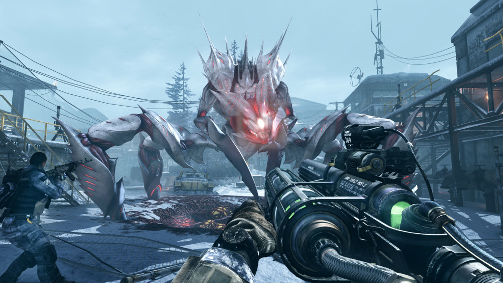 Call of Duty Ghosts Onslaught DLC Extinction