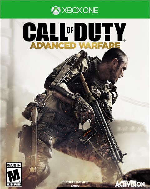Call of Duty Advanced Warfare Xbox One Box Art