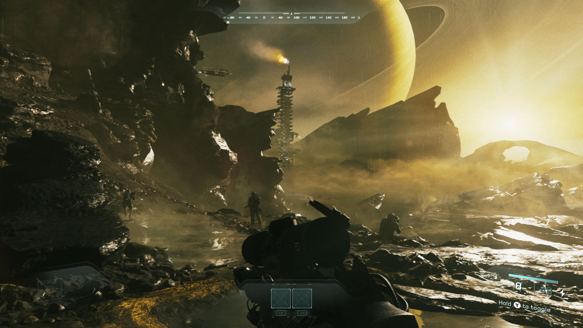 Call of Duty: Infinite Warfare Venus Screenshot